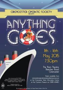 Anything Goes flyer